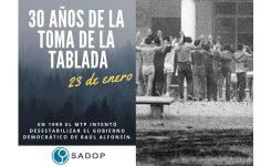30 años del copamiento de La Tablada